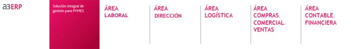 a3 ERP - areas