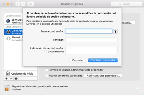Mantenimiento informático Madrid – Tiempo para Cambiar contraseña. Mantenimiento informático Humanes