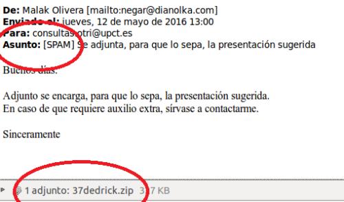 Tipos de correos maliciosos: No los abras