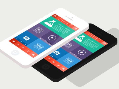 Diseño móvil Flat: La ventaja que te puede dar