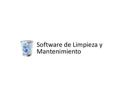Mantenimiento informático Madrid – Software de limpieza: el problema al utilizarlos